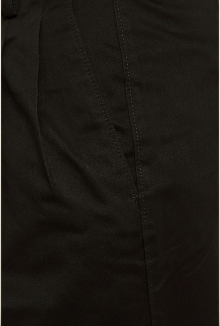 Van Heusen Olive Solid Formal Trouser