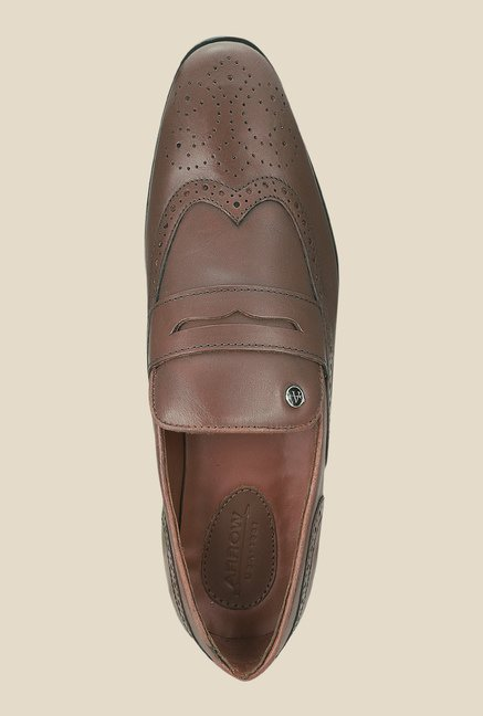 Arrow Brown Brogue Formal Shoes