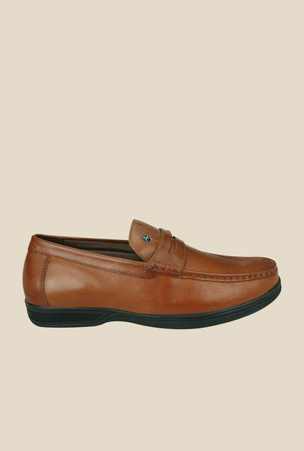 Arrow Brown Formal Slip-Ons