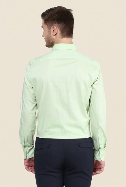 Turtle Green Solid Shirt