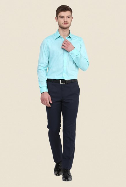 Turtle Turquoise Solid Shirt