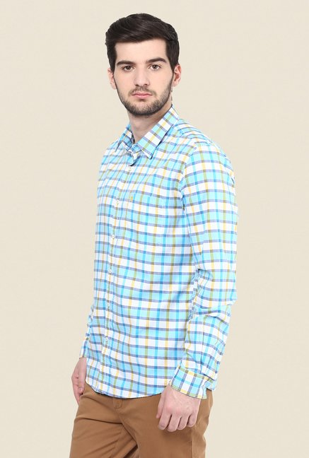 Turtle Blue Checks Shirt