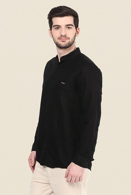 Turtle Black Solid Shirt