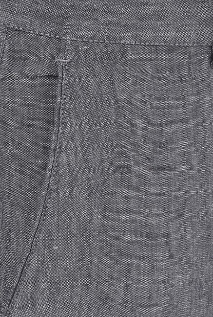 Turtle Grey Linen Trouser