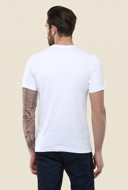 Turtle White Graphic Print T Shirt
