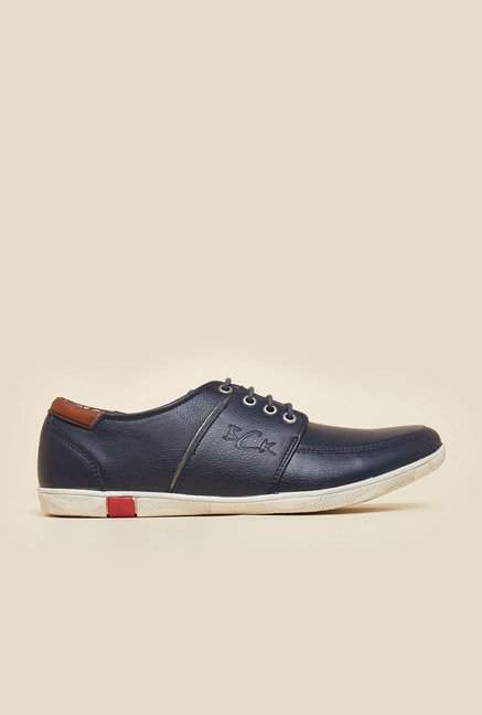 BCK by Buckaroo Aaron Blue Derby Shoes