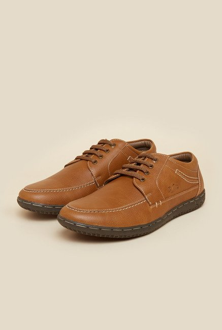 BCK by Buckaroo Cortez Tan Derby Shoes