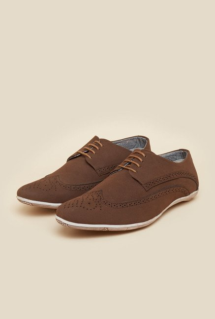 BCK by Buckaroo Luis Brown Brogue Shoes