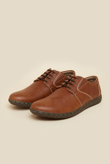 BCK by Buckaroo Benita Brown Derby Shoes