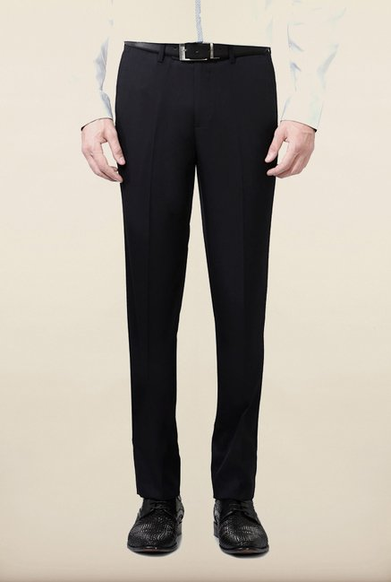 University of Oxford Black Solid Formal Trouser