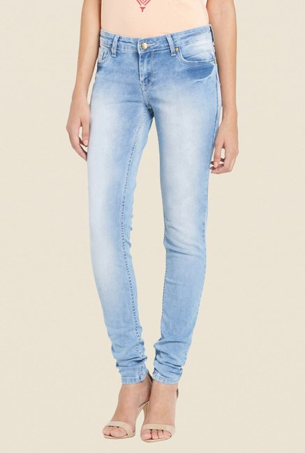 Globus Light Blue Heavily Washed Jeans