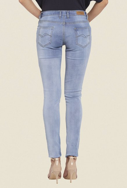Globus Blue Ripped Denim Jeans