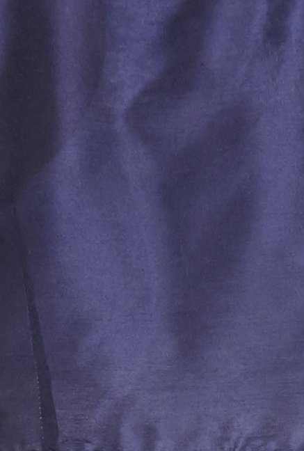 Globus Navy Solid Cotton Shrug