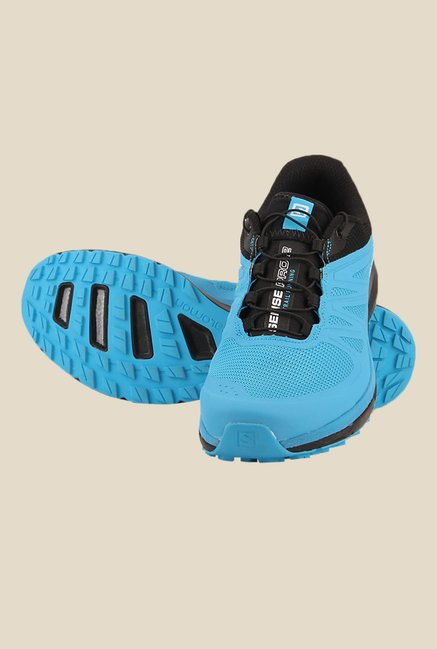 Salomon Sense Pro 2 Scuba Blue & Black Running Shoes