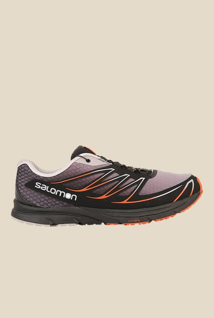 Salomon Sense Mantra 3 Aluminium & Black Running Shoes