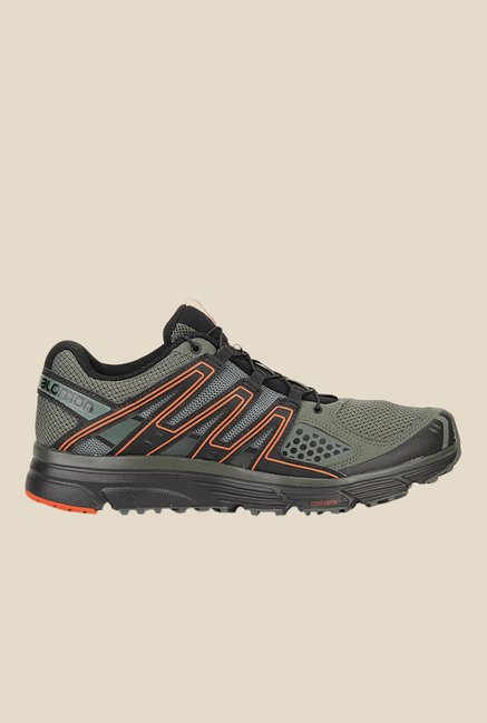 Salomon X-Mission 3 Grey & Black Running Shoes