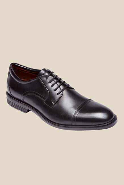 Rockport City Smart Black Derby Shoes
