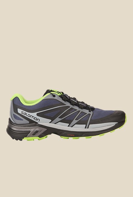 Salomon Wings Pro 2 Slate Blue & Grey Sports Shoes
