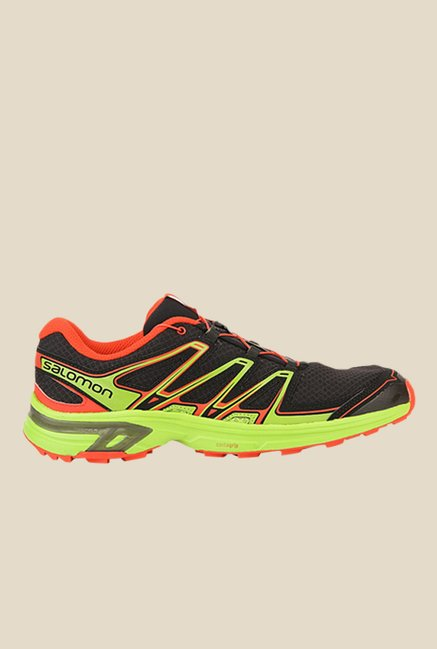 Salomon Wings Flyte 2 Black & Green Sports Shoes
