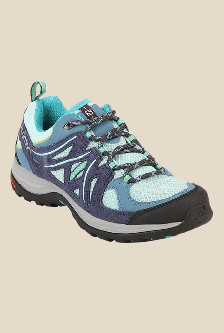 Salomon Ellipse 2 Aero Slate Blue & Teal Sports Shoes