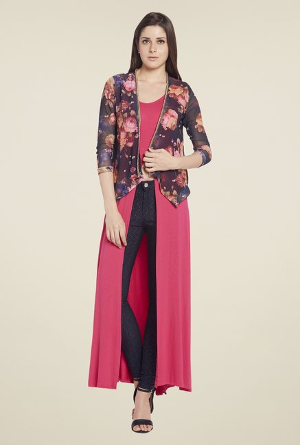 Globus Multicolor Printed Shrug