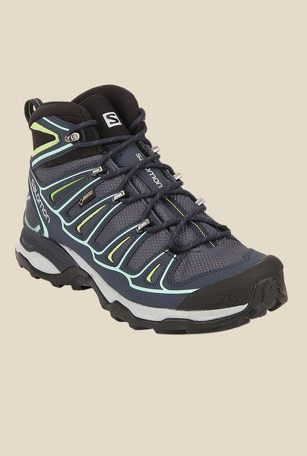Salomon X-Ultra Grey & Blue Sports Shoes
