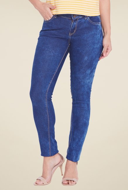 Globus Blue Acid Wash Jeans