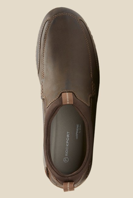 Rockport Lite Brown Casual Slip-Ons