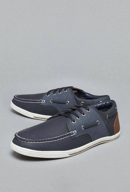 Azzurro by Westside Navy Boat Shoes