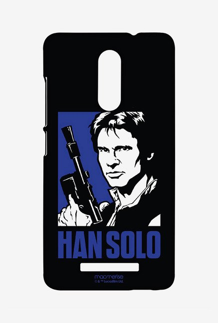 Macmerise XACN3SSW0170 Iconic Han Solo Sublime Case for Xiaomi Redmi Note 3