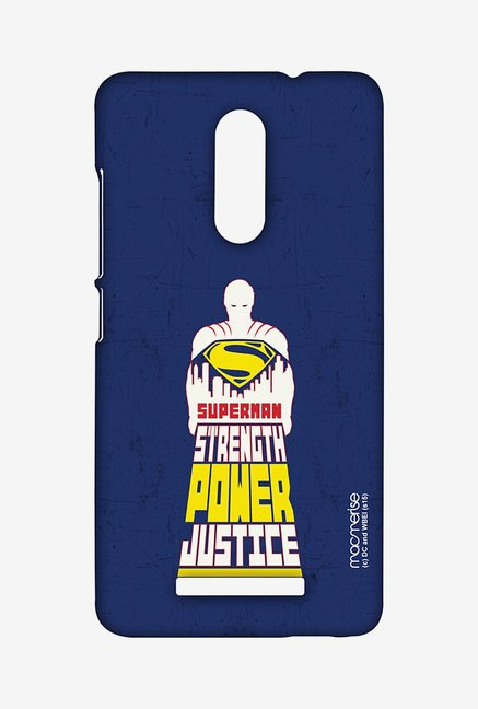 Macmerise XACN3SBS0104 Superman Power Sublime Case for Xiaomi Redmi Note 3