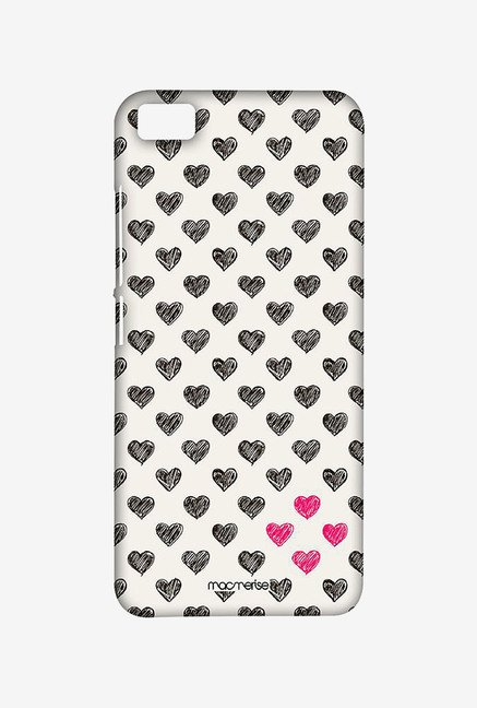 Macmerise XACM5SMI0884 Sketchy Hearts Sublime Case for Xiaomi Mi5