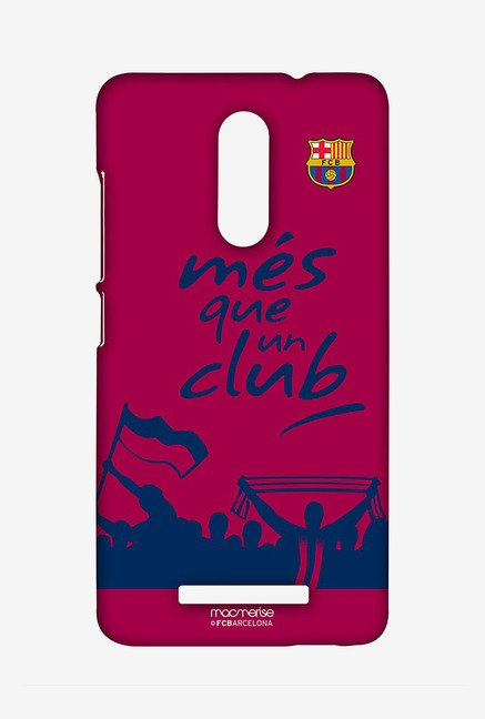 Macmerise XACN3SBA0122 FCB Slogan Sublime Case for Xiaomi Redmi Note 3