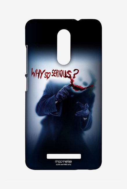Macmerise XACN3SDK0248 Why So Serious Sublime Case for Xiaomi Redmi Note 3