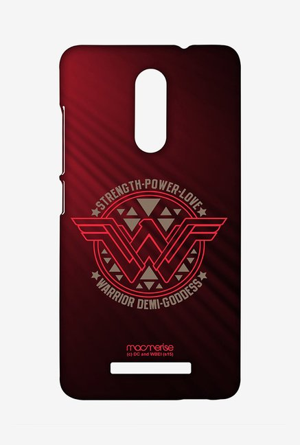 Macmerise XACN3SBS0170 Wonder Woman Stamp Sublime Case for Xiaomi Redmi Note 3