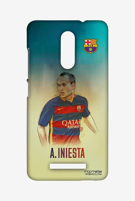 Macmerise XACN3SBA0152 Illustrated Iniesta Sublime Case for Xiaomi Redmi Note 3