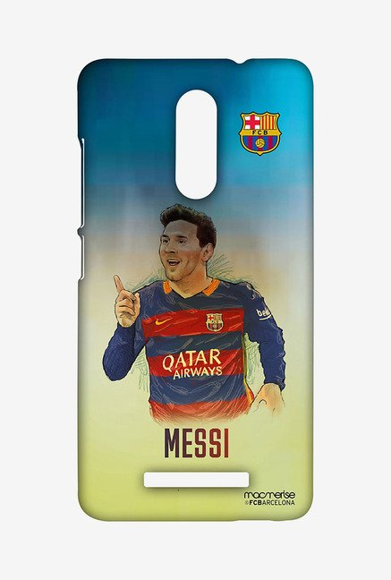 Macmerise XACN3SBA0158 Illustrated Messi Sublime Case for Xiaomi Redmi Note 3