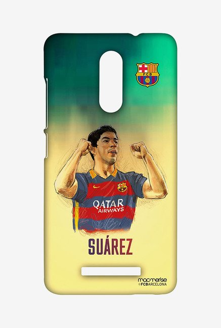 Macmerise XACN3SBA0176 Illustrated Suarez Sublime Case for Xiaomi Redmi Note 3