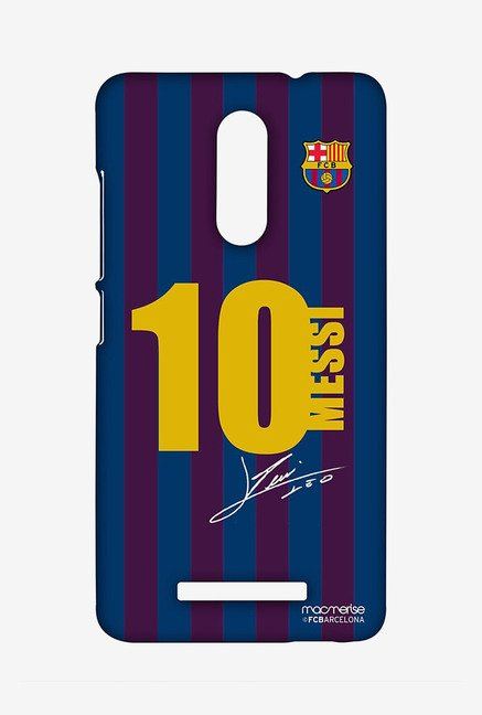 Macmerise XACN3SBA0188 Jersey Messi Sublime Case for Xiaomi Redmi Note 3