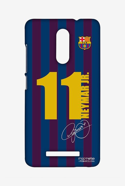 Macmerise XACN3SBA0194 Jersey Neymar Sublime Case for Xiaomi Redmi Note 3