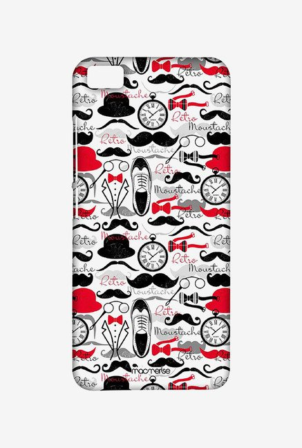 Macmerise XACM5SMI0350 Retro Mustache Sublime Case for Xiaomi Mi5