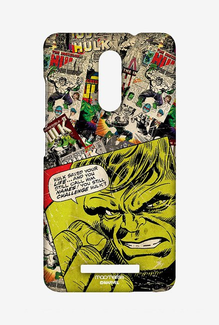 Macmerise XACN3SMM0062 Comic Hulk Sublime Case for Xiaomi Redmi Note 3