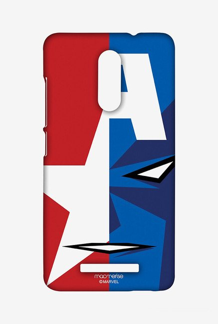 Macmerise XACN3SMM0092 Face Focus Captain America Sublime Case for Xiaomi Redmi Note 3