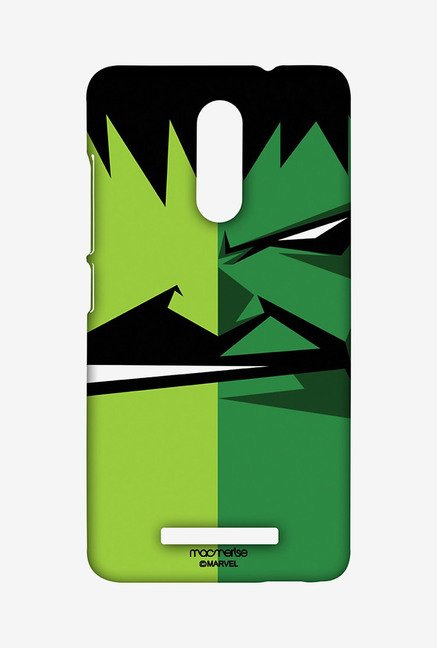 Macmerise XACN3SMM0098 Face Focus Hulk Sublime Case for Xiaomi Redmi Note 3