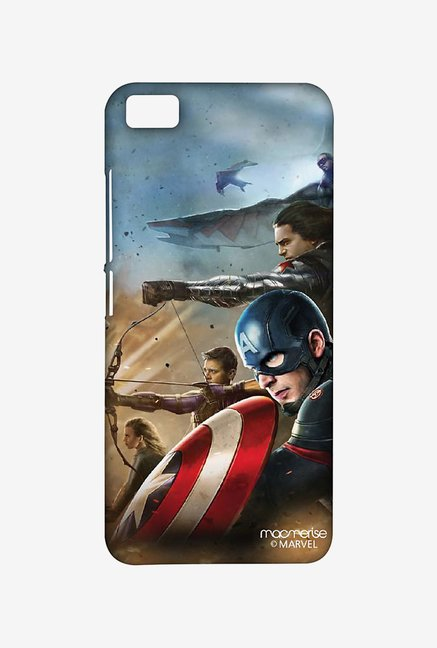 Macmerise XACM5SMM0578 Team Captain America Sublime Case for Xiaomi Mi5