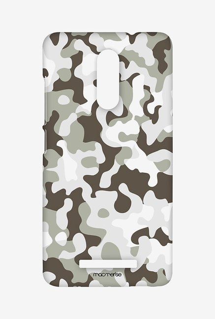 Macmerise XACN3SMI0824 Military Grey Sublime Case for Xiaomi Redmi Note 3