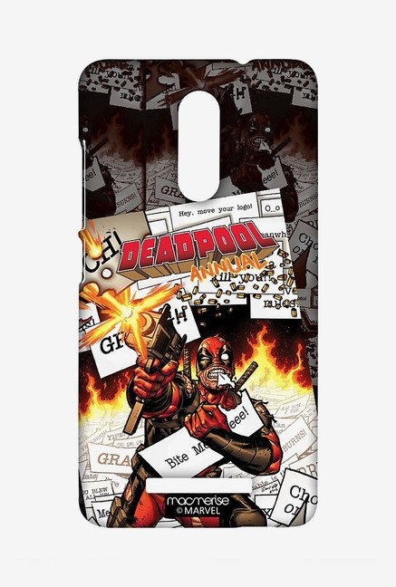 Macmerise XACN3SMM0254 Comic Deadpool Sublime Case for Xiaomi Redmi Note 3