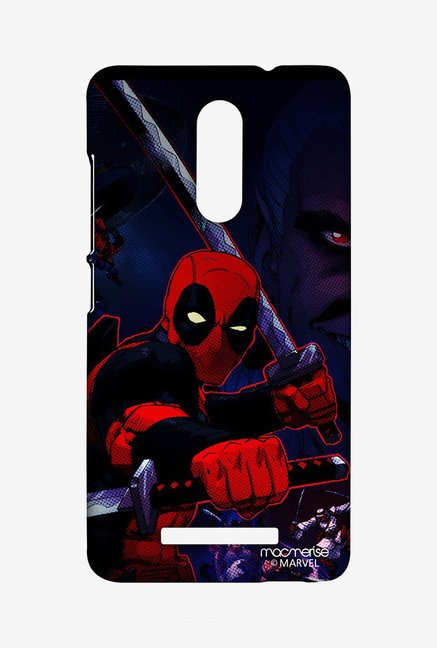 Macmerise XACN3SMM0260 Deadpool Attack Sublime Case for Xiaomi Redmi Note 3