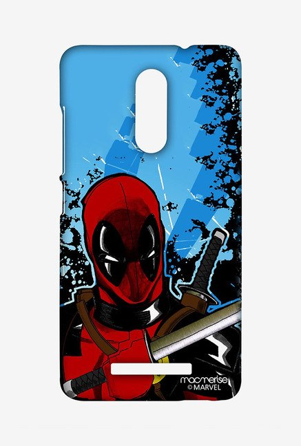Macmerise XACN3SMM0272 Deadpool Fury Sublime Case for Xiaomi Redmi Note 3