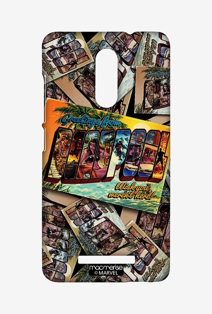 Macmerise XACN3SMM0284 Deadpool Postcard Sublime Case for Xiaomi Redmi Note 3